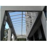 Cobertura de Vidro Laminado no Jabaquara