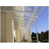 Cobertura de Vidro Retrátil preço na Ponte Rasa