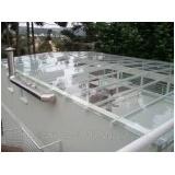 Cobertura de Vidro Retrátil valor no Parque São Rafael