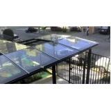 Cobertura de Vidro Temperado preço no Jabaquara