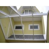 Cobertura de Vidro Temperado valor em Santo André