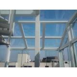 Cobertura em Vidro preço na Cidade Jardim