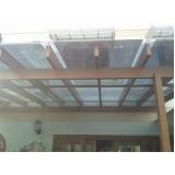 Cobertura em Vidro valores no Campo Belo