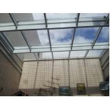 Cobertura em Vidro valores no Jardim Bonfiglioli