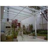 Coberturas em Vidro valor no Jardim América