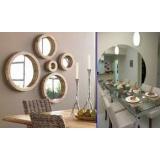 Espelhos de decoração preço no Alto da Lapa