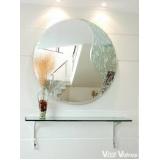 Espelhos decorados no Jabaquara