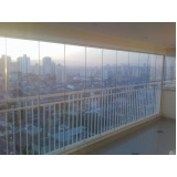 Fechamento de Sacada em Vidro preços em São Miguel Paulista