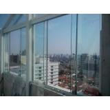 Fechamento de Sacadas com Vidros preço em Interlagos
