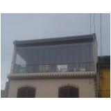 Fechamento de Sacadas com Vidros preço em São Domingos