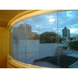 Fechamento de Sacadas em Vidro valores em Santo André