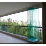 Fechamento Sacada com Vidro preço no Campo Grande