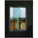 Janela de Vidro Temperado valor na Vila Formosa