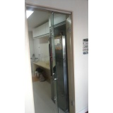 Porta de Vidro de Correr Preço na Cidade Ademar