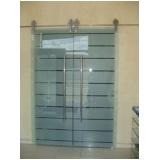 Porta de Vidro de Correr Preços na Cidade Ademar