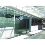 Porta de Vidro Temperado Preço na Vila Gustavo