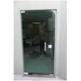 Porta de Vidro Temperado Preços na Vila Esperança