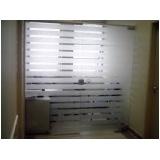 Portas de Vidro Preço na Vila Guilherme