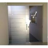 Portas de Vidro valor na Barra Funda