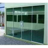 Portas de Vidro valores na Santa Efigênia