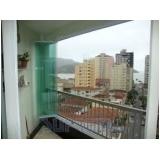 Sacadas Vidro na Vila Gustavo