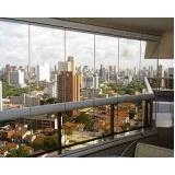 Vidro de Sacada no Ibirapuera