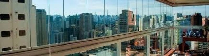 Vidro Fechamento de Sacada Valores no Jardim Paulistano - Fechamento de Sacadas com Vidro Preço