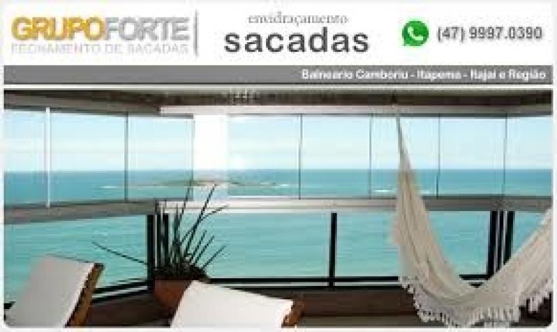 Vidro para Sacada Valores na Vila Sônia - Sacadas de Vidro