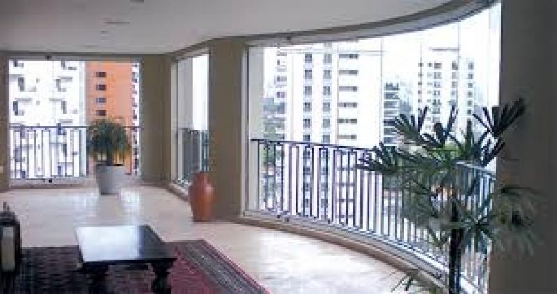 Vidros Sacada na Lauzane Paulista - Sacada com Vidro